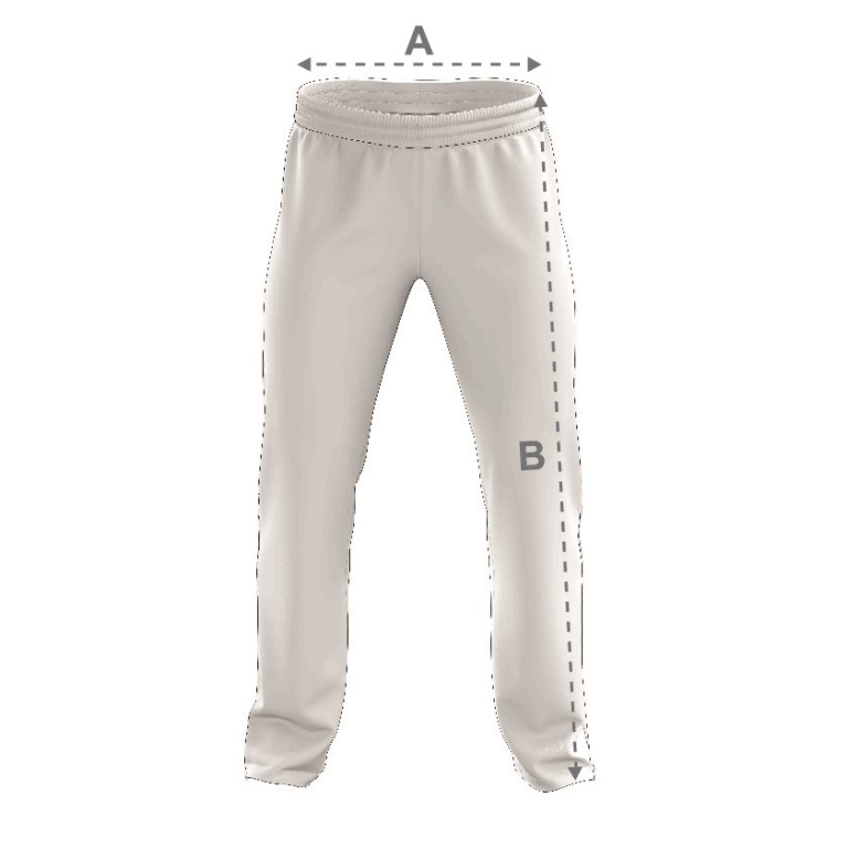 SPALL SUBLIMATION CRICKET TROUSERS SIZE GUIDE