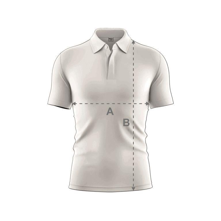 Womens Cricket Shirt Size Guide